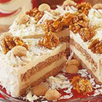 Walnuss Karamell Torte